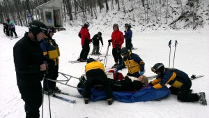 The amazing ski patrol.
